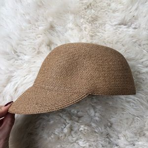 Eugenia Kim Straw Baseball Hat